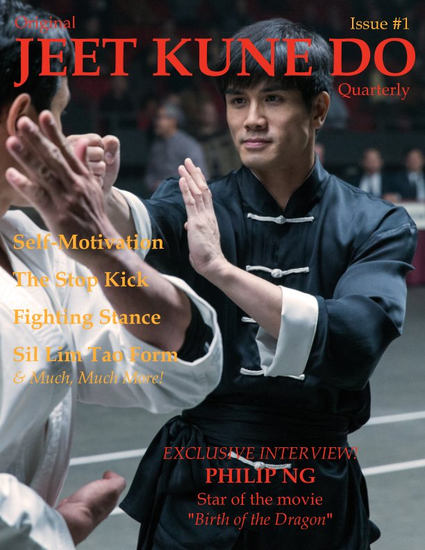 Original Jeet Kune Do Quarterly magazine - Issue 1